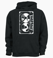 Retro Casette Hipster Hip Hop Music 80's Indie Kids Hoody Hoodie Youth