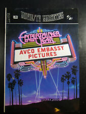 Movie/TV Marketing Magazine 1981-2 ENTERTAINER OF THE YEAR:AVCO EMBASSY PICTURES