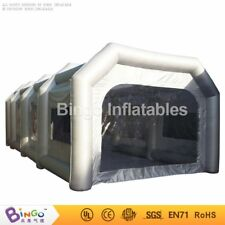 10mx5mx3.5m/7m*5m*3m Inflatable Oxford Cloth Car Spray Booth Paint Tent SG