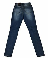 Red Fox Women's Medium Blue Jeans w/ Ripped Knee