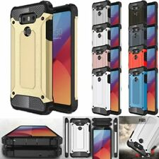 Hybrid Shockproof High Impact Hard TPU Armor Skin Case Cover For LG Cell Models