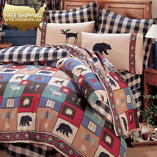 TRUE GRIT - The Woods Comforter Set Bed in a Bag [Twin,Full,Queen,King]