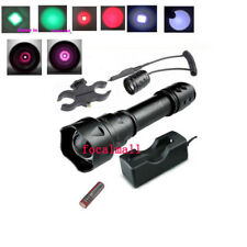 T20 Osram Infrared LED IR 810nm 850 940nm Green Night Vision Zoomable Flashlight