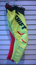 Shift Youth Assault Race Pant Red/Yellow