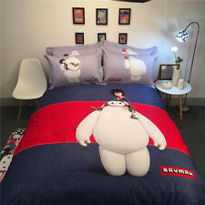 NEW Disney Baymax 3D Printed Bedding Bedspreads Bed Set Single Twin Full Queen