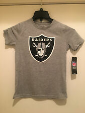 Oakland Raiders Youth T-shirt Gray Color T-shirt - NFL Licensed