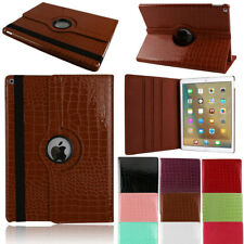 Crocodile Pattern Leather PU Rotating Flip Case For iPad 2345 Mini 1234 Air Pro