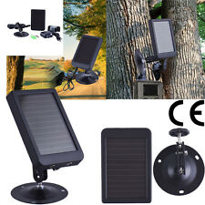 Solar Panel External Battery Power Charger for HT-002 series Hunting Camera
