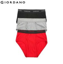 Giordano men underwear basic cotton soft male underwear 3pcs sous vetement homme