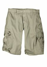 """Dickies Khaki 13"""" Loose Fit Cargo Work Shorts Size 30-46 When Quality Matters"""