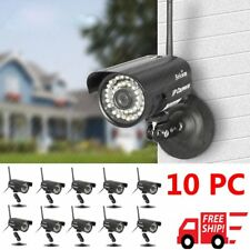 LOT 10 IP Camera WiFi Outdoor Waterproof Wireless Night Vision Security Network