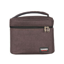 Sanne Insulated Lunch Bag Thermal Cooler Ice Picnic Food Container 6 cans bag