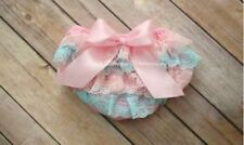 Kids Summer Satin Pants Ruffle Bloomers Baby Diaper Cover Toddler fashion with S