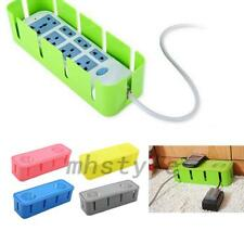 Cable Wire Socket Storage Box Power Management Safety Organizer Home