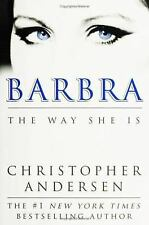 Barbra The Way She Is by Christopher Andersen