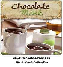 Chocolate Mint Scented Flavored Loose Leaf Tea - gourmet black tea