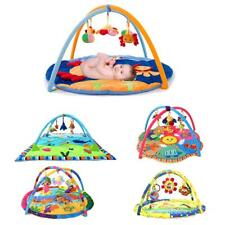 Musical Sound Baby Play Mat Activity Gym Infant Tummy Time Pad Soft Mat Animals
