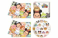 Disney Tsum Tsum Birthday Party Tableware Cups Napkins Plates Tablecover