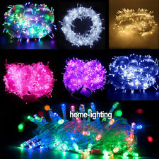 20M-100M LED Fairy String Christmas Lights Inside Outside Xmas Party Wedding New