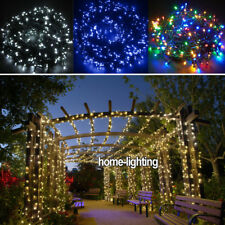 20/30/50M Green Cable LED String Fairy Lights Wedding Christmas Outdoor Lighting