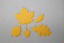 Stampin' Up Autumn Accents Leaf Die Cuts 10  *You Choose the Colors*