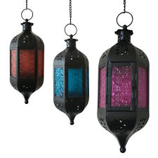 Classic Moroccan Secret Garden Candle Holder Table/ Hanging Lantern Metal Lamp