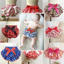 Shorts Briefs Bottom Pants Nappy Covers Baby Girl Ruffle Bloomer Princess Petti