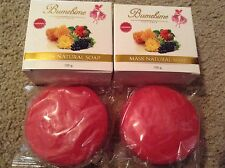 X2 Thai Bumebime Mask Whitening Natural Soap-USA SELLER-Authentic-New Packaging