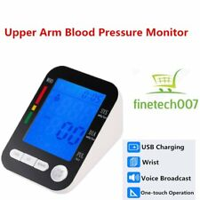 LCD Arm Electronic Blood Pressure Monitor Sphygmomanometer Heart Rate Meter U*T