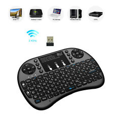 RII I8+ Mini Wireless QWERTY Keyboard Touchpad Mouse Combo with LED Backlit