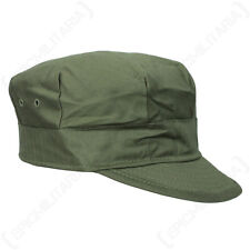 WW2 US M41 HBT Field Cap - All Sizes - Army Military Reproduction Olive Drab New