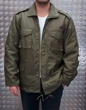 US Military Style M65 Lined Combat Jacket Green MOD/Scooter - All Sizes NEW