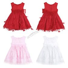 Infant Baby Girl Princess Xmas Dress Toddler Wedding Party Pageant Tutu Dresses