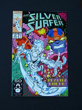 Silver Surfer Vol.3  #57 Thanos App. VF/NM 1991 Infinity Gauntlet Marvel Comic