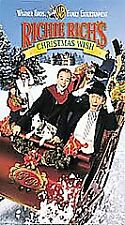 Richie Richs Christmas Wish Movie VHS, 1998, Clamshell D. Gallagher, M. Mull