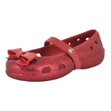 Crocs Keeley Hi Glitter Blow Flat Pepper/Pepper Infant Girls Mary Jane Size 8M