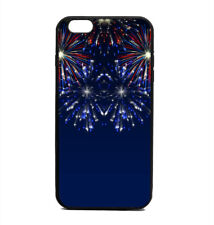 Phone Case Festive Patriotic 4th of July Fireworks Print iPhone 4 5 6 7 Plus Gal