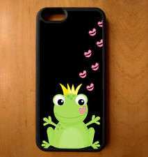 Phone Case Frog Toad Prince Kiss Print iPhone 4 5 6 7 Plus Galaxy S6 S7 S8 Note