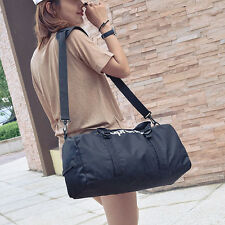 Women Mens Sports Bag Training Travel Shoulder Luggage Duffle Bag Gym Handbag