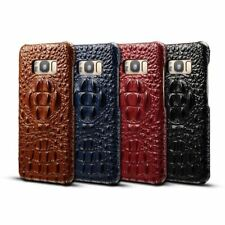 Luxury Genuine Cow Leather Crocodile Pattern Case For Samsung Galaxy Note 8 S8 +