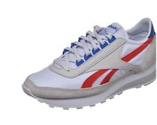 REEBOK AZTEC CLASSIC MEN'S SHOES AR0620 TRAINER VINTAGE LEATHER WHITE RUNNING
