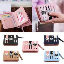 Girls Cute Cartoon Coin Purse Credit Card Mini Wallet