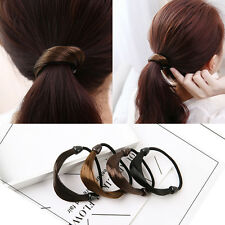 Womens Braid Straight Wig Elastic Hair Band Rope Ponytail Holder Rope Hair Ring
