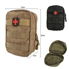 First Aid Kit Bag Tactical Medical Molle EMT Medic Outdoor Emergency Equipment