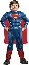 Boys Justice League Hero Superman Book Day Halloween Fancy Dress Costume Outfit