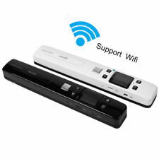 Portable Handheld Wireless WIFI Scanner A4 Book Document Handyscan PDF / JPG