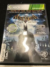 Batman: Arkham Asylum -- Game of the Year Edition (Microsoft Xbox 360, 2010)