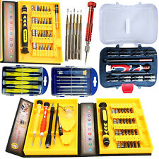 Precision Repair Kit Phillips Star Torx Hex Key Bit Telecom Screwdriver Tool Set