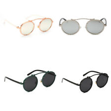 Round New Novelty Style Sunglasses Vintage Retro Fashion Ladies Mens Womens