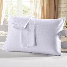 Queen King Set 2 Pillow Case Covers Satin Hair Beauty Pillowcases Standard Size